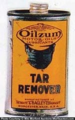 Oilzum Tar Remover Sample Tin