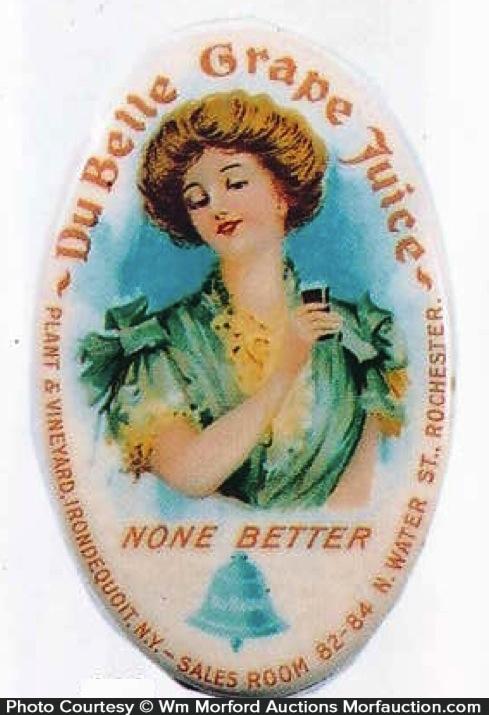 Du Belle Grape Juice Mirror