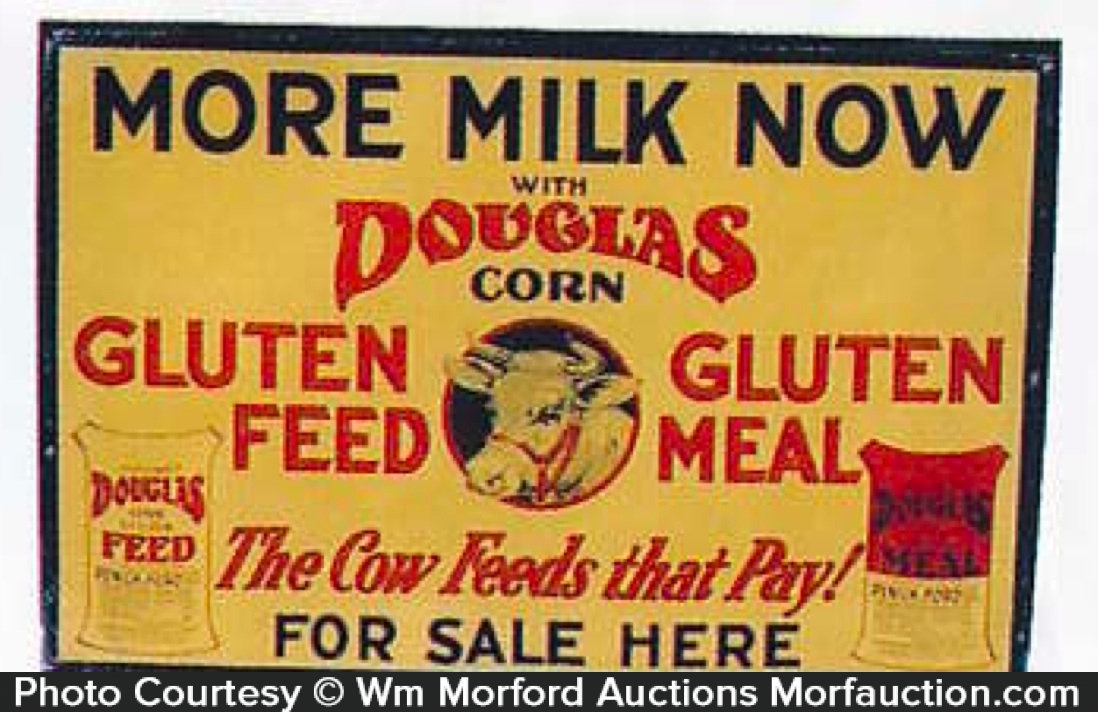 Douglas Corn Gluten Feed Sign
