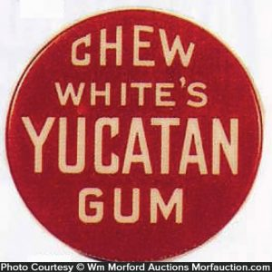 White's Yucatan Gum Mirror