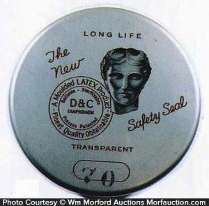 Long Life Contraceptive Tin
