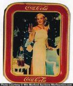 Coca-Cola Madge Evans Tray