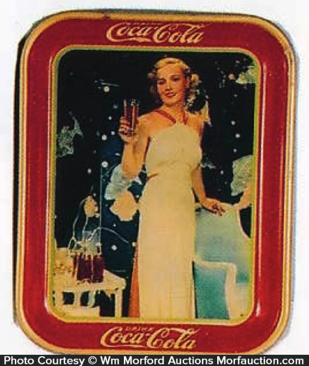 Coca-Cola Madge Evans Tray