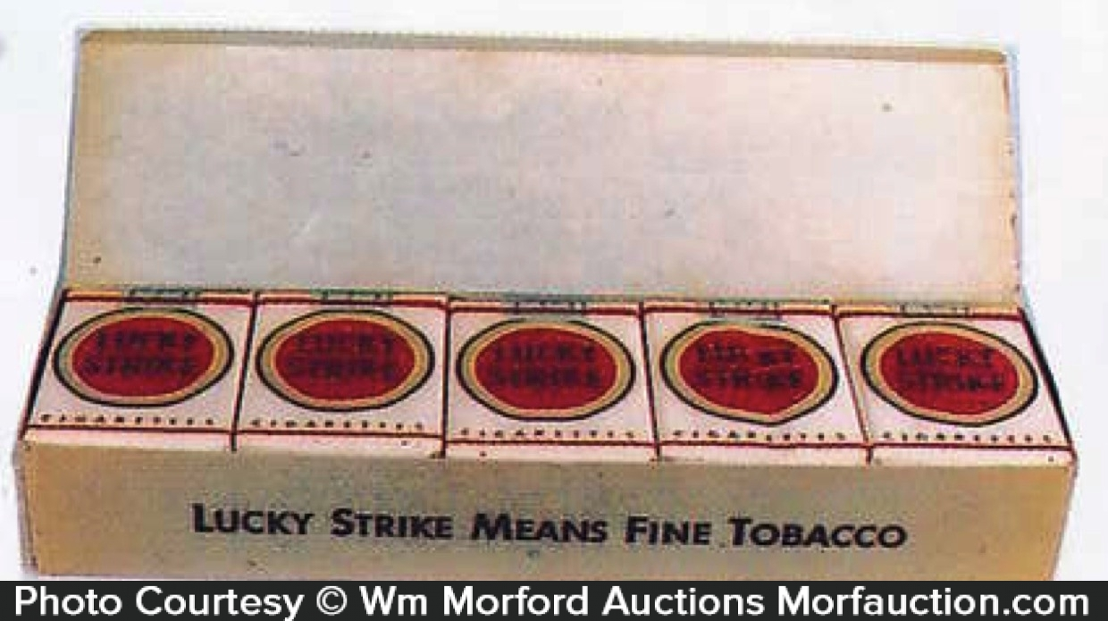 Lucky Strike Cigarette Carton