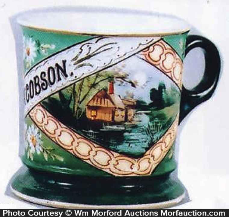 Cottage Shaving Mug