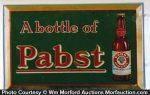 Pabst Beer Sign
