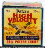 Peters High Velocity Shells Box