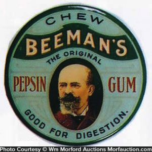 Beeman's Pepsin Gum Mirror