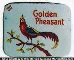 Golden Pheasant Condom Tin