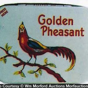 Golden Pheasant Condom Tin
