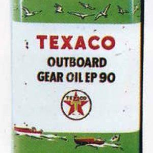 Texaco Outboard Gear Oil Can