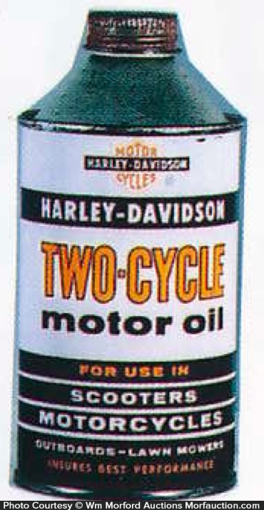 Harley-Davidson Two-Cycle Tin