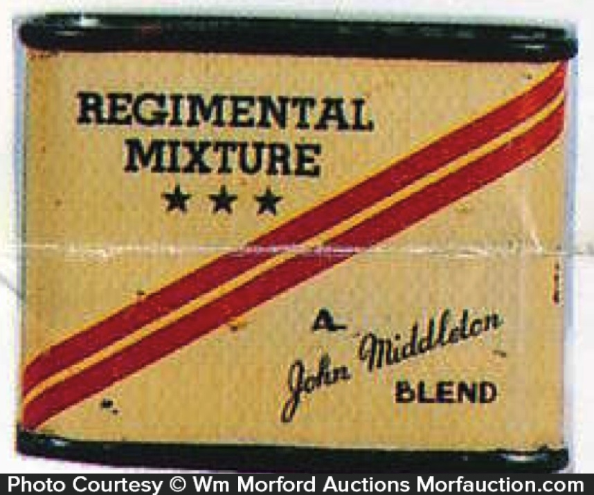 Regimental Mixture Tobacco Tin