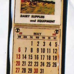Berman Dairy Supplies Calendar