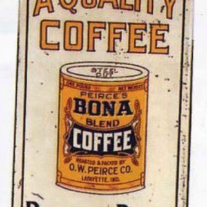 Bona Coffee Sign