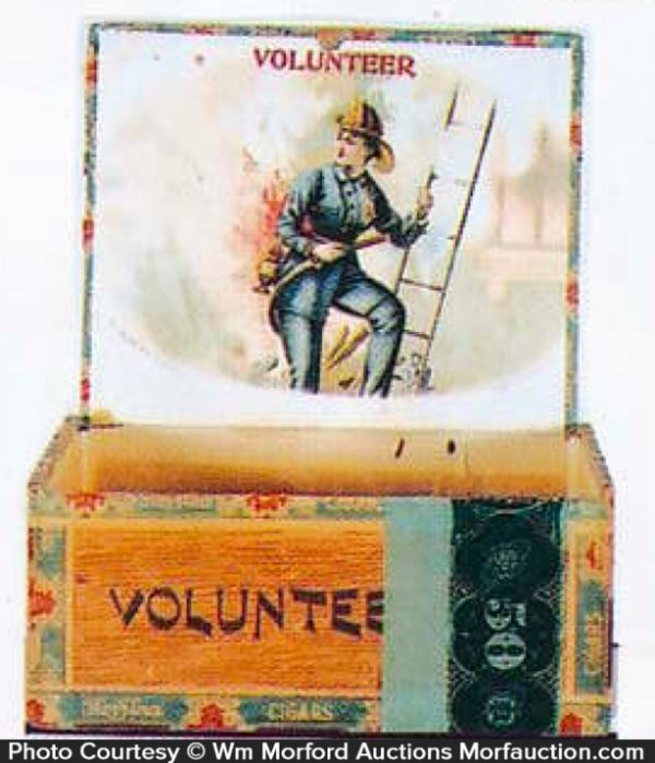 Volunteer Cigar Box