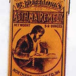 Dr. Kellogg's Asthma Remedy Tin