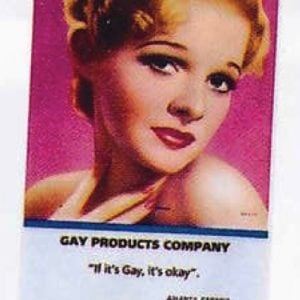 Gay Products Calendar