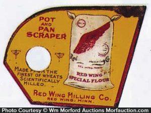 Red Wing Flour Pot Scraper