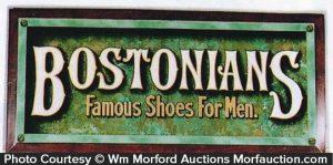 Bostonians Shoe Sign