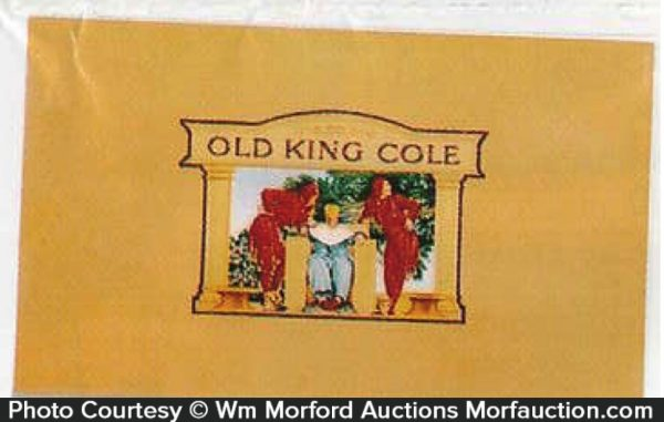 Old King Cole Cigar Box Label