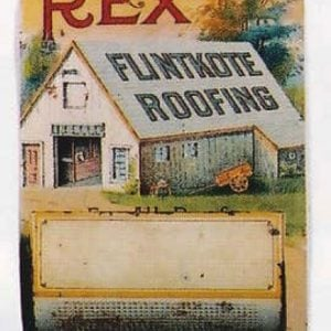 Rex Flintkote Roofing Match Holder