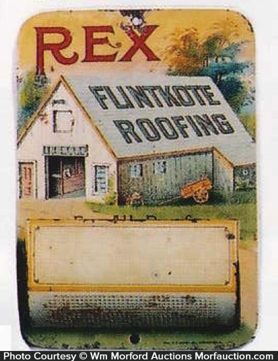 Rex Flintkote Roofing Match Holder