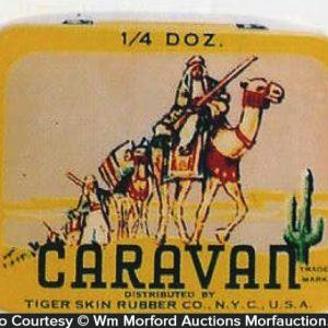 Caravan Condom Tin