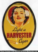 Harvester Cigar Sign
