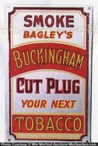 Buckingham Tobacco Door Push