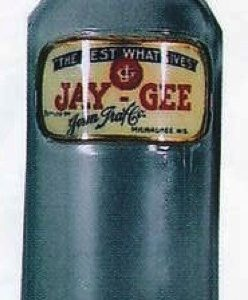Jay-Gee Syrup Bottle