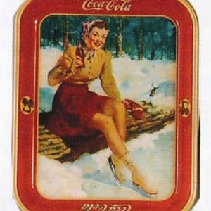 Coca-Cola Skating Tray