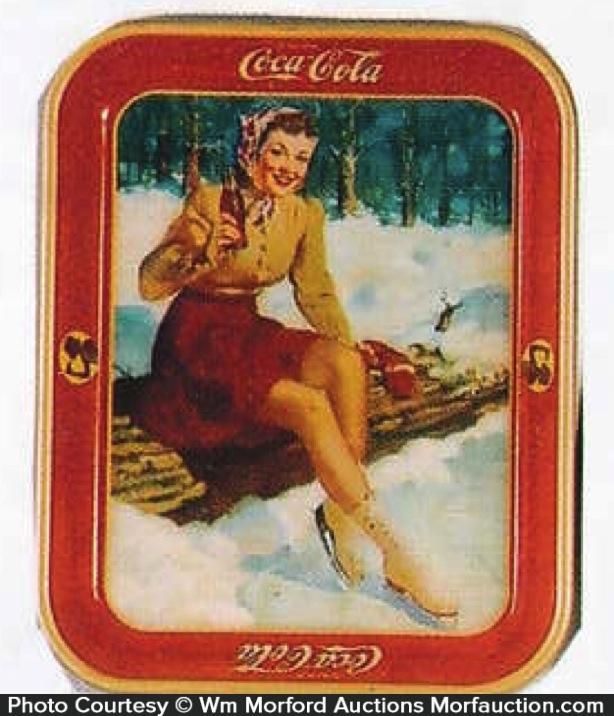 Coca-Cola Skating Tray