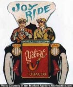 Velvet Tobacco Joy Ride Sign