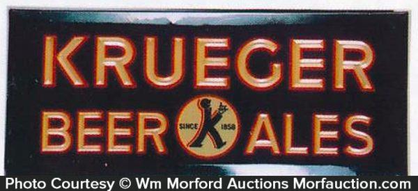 Krueger Beer Sign