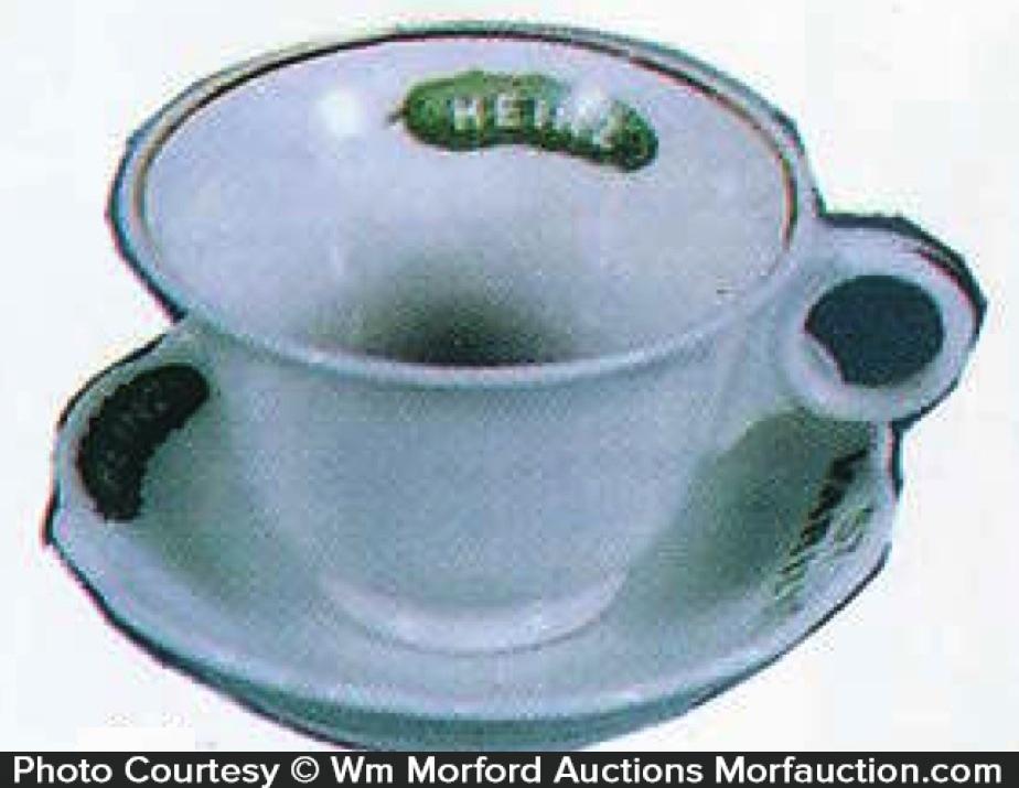 Heinz Miniature Cup & Saucer