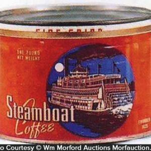 Steamboat Coffee Can