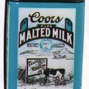 Coors Malted Milk Tin