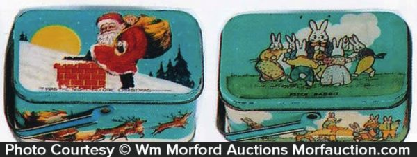 Vintage Holiday Tins