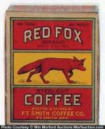 Red Fox Coffee Box