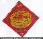 Castille Cream Soap Sign