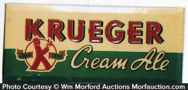 Krueger Cream Ale Sign
