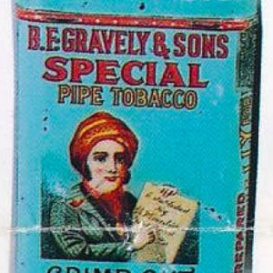 Gravely Special Tobacco Tin