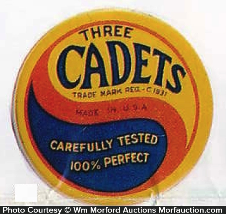 Three Cadets Condom Tin