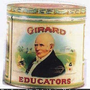 Girard Educators Cigar Can