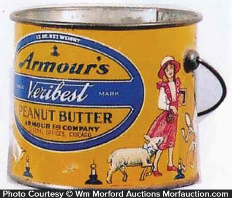Armour's Peanut Butter Pail