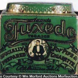 Tuxedo Tobacco Can