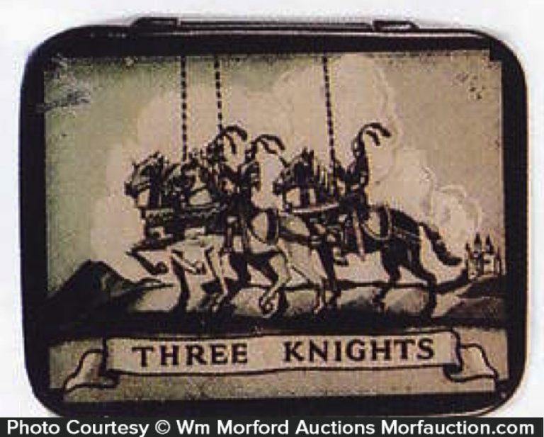 Three Knights Condom Tin
