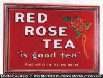 Red Rose Tea Sign