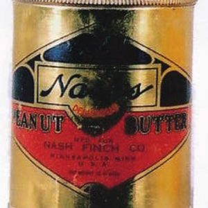 Nash's Peanut Butter Tin